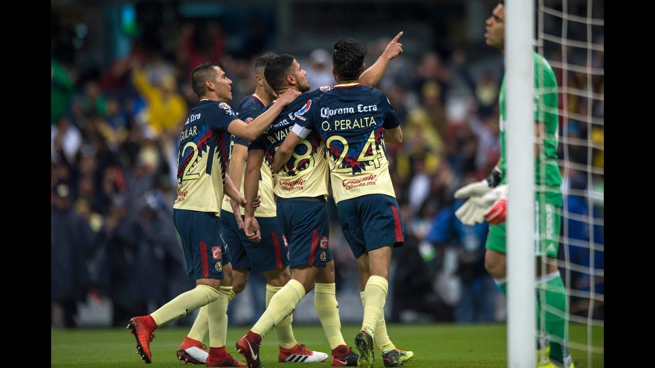 Resumen Club América 10 Atlas J4 Liga MX Clausura