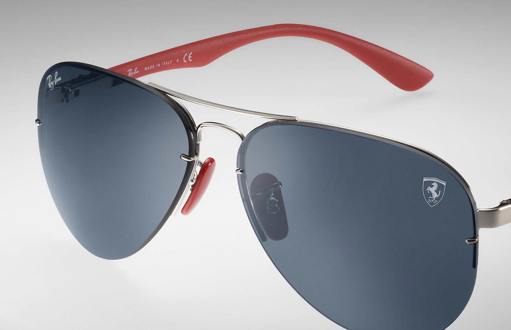RB3460M Scuderia Ferrari Sunglasses by Ray-Ban - C