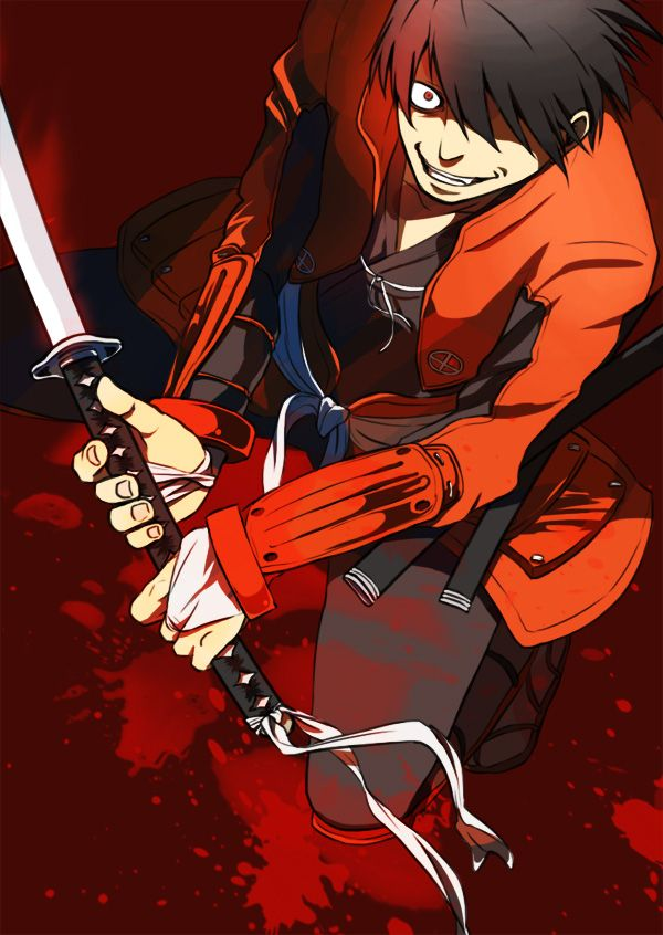 Tags Anime Red Fight Stance Samurai Splatter Blood