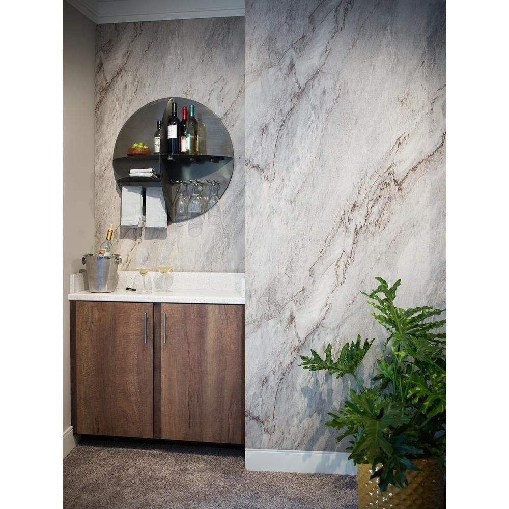 Formica 5 Ft X 12 Ft Laminate Sheet In 180fx Sea Pearl With Scovato Finish Sea Pearl Scovato 1000 In 2020 180fx Formica Laminate Countertops