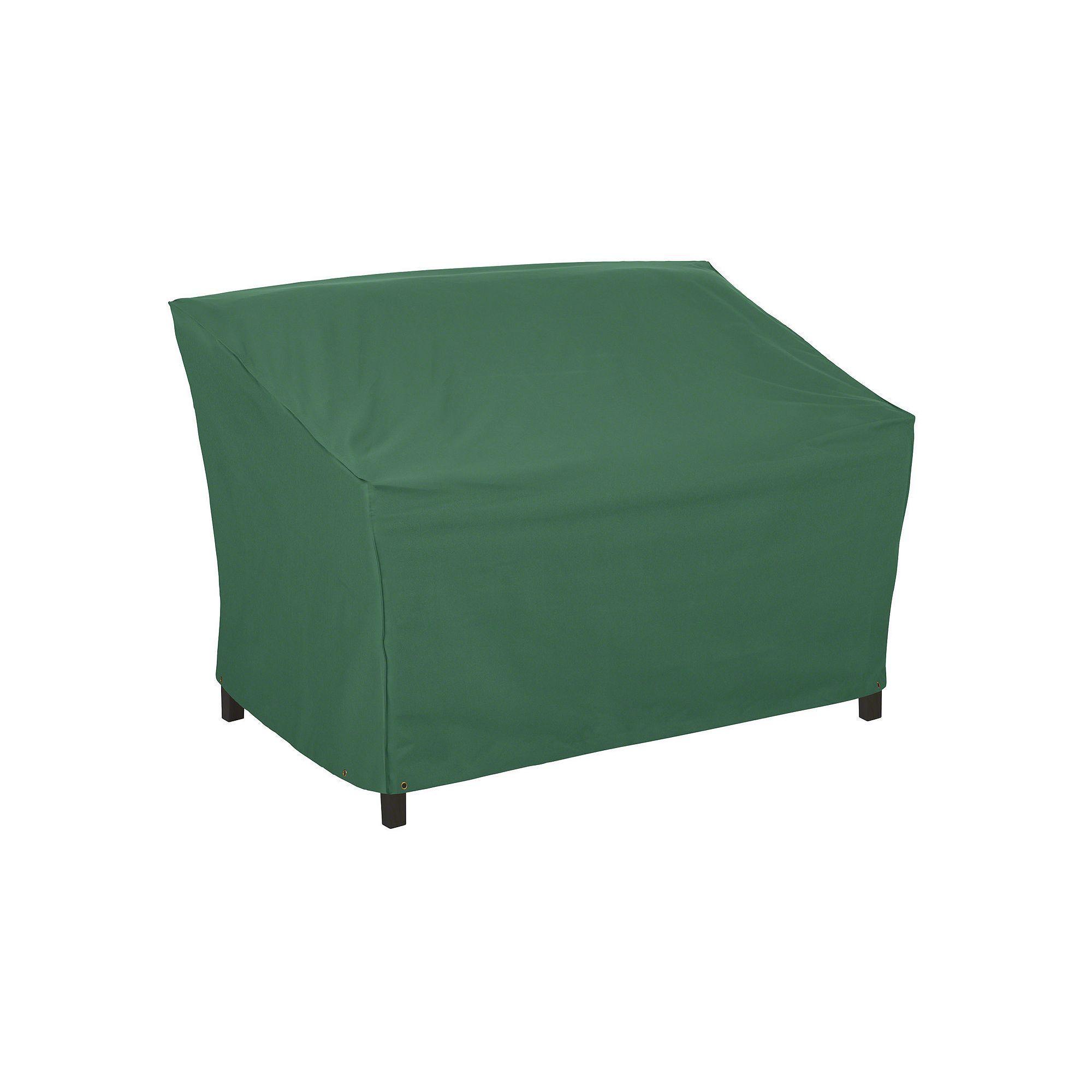 Outdoor Atrium Patio Sofa or Loveseat Cover Green
