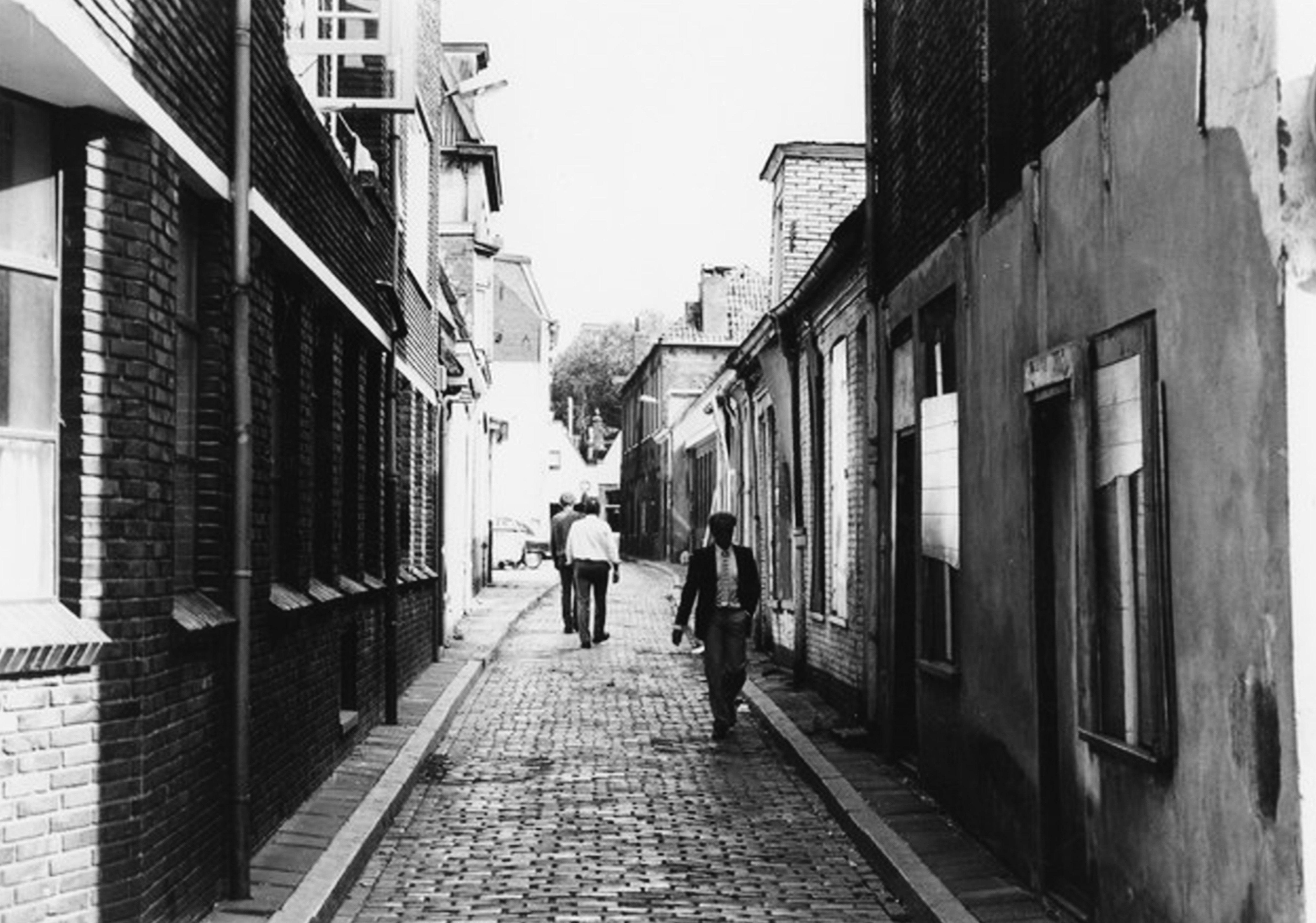 Folkingedwarsstraat 1982 Groningen, Nederland, Stad