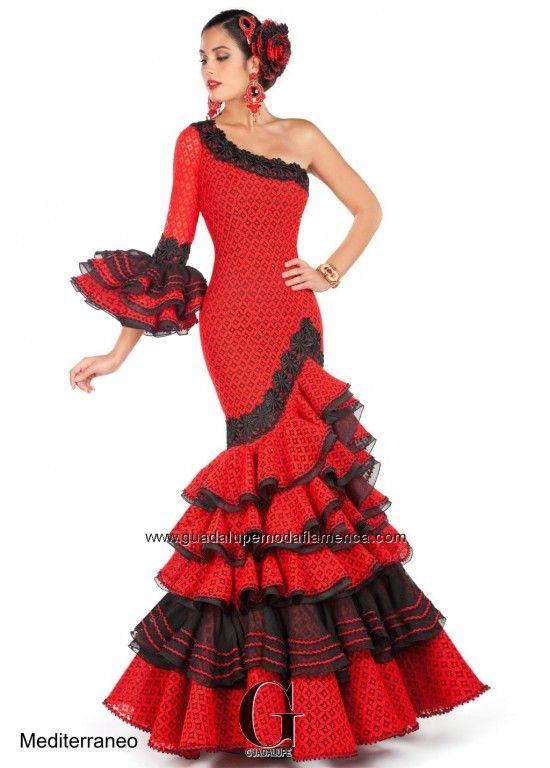traje flamenca - Buscar con Google  d974de50e09