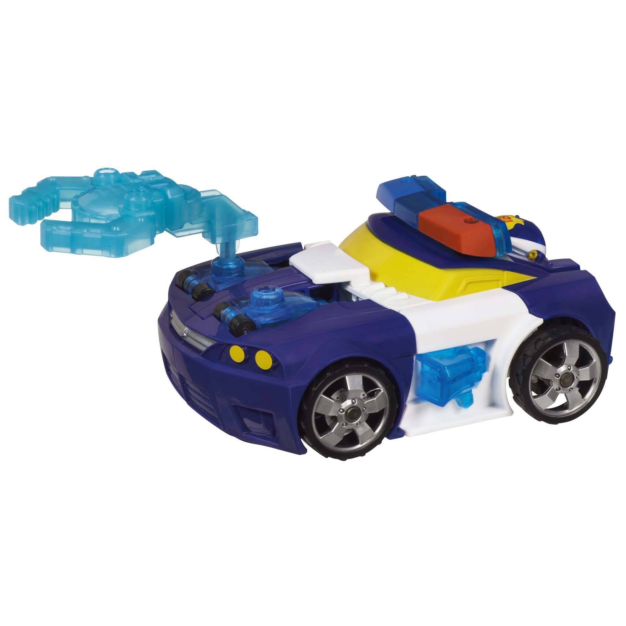 Heroes Transformers Rescue Bots Energize Chase the Police-Bot Action Figure