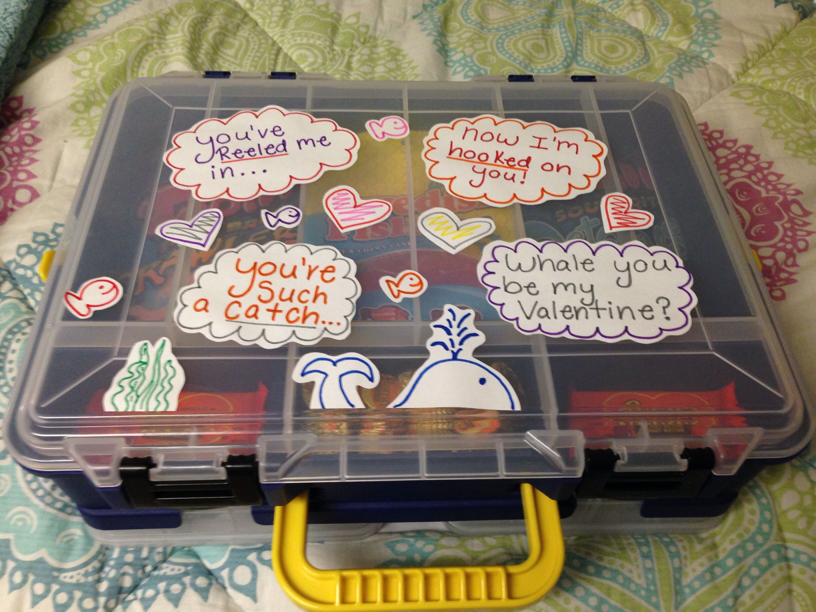 Tackle Box Valentines Day Present for men!