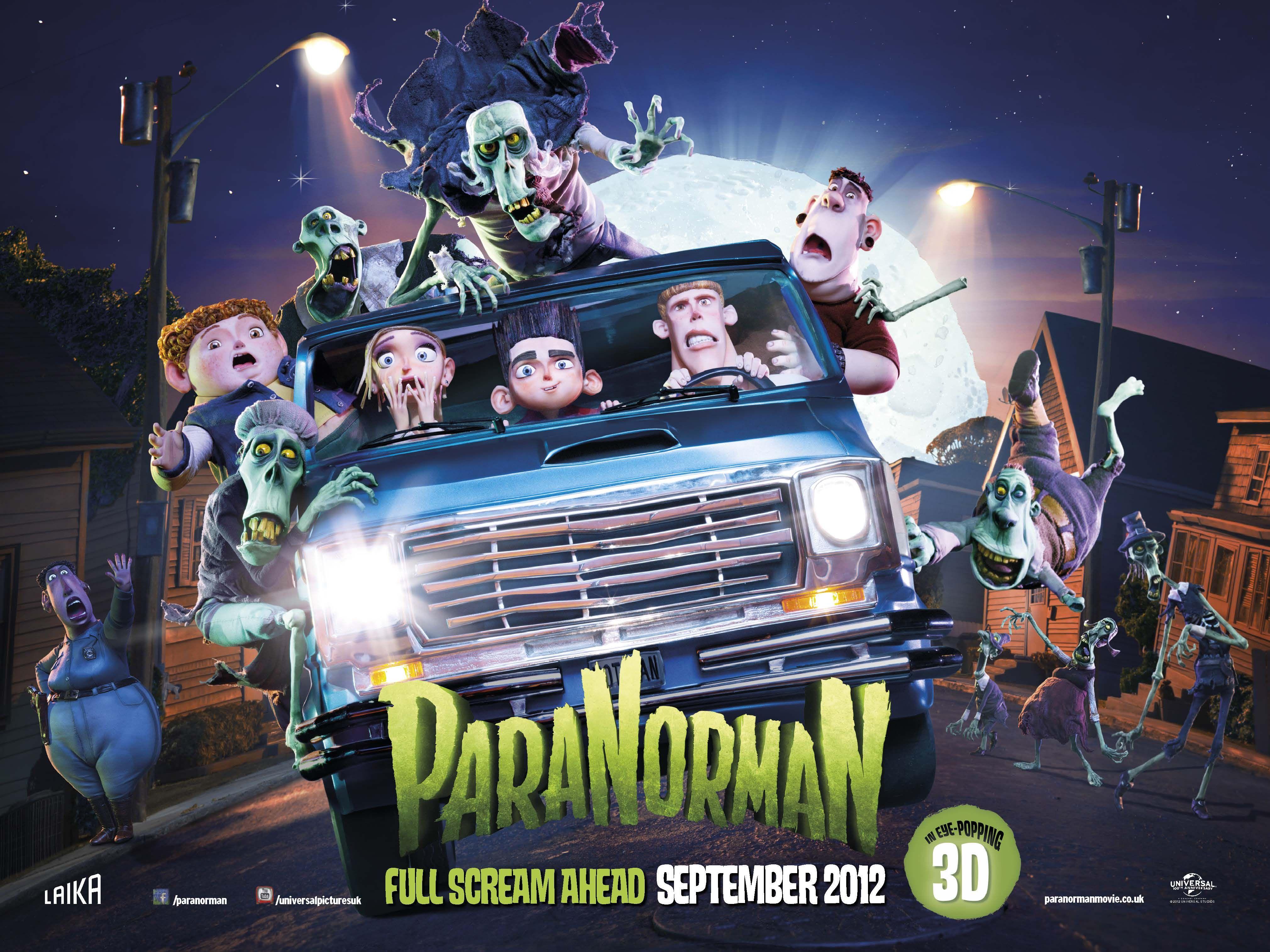 ParaNorman Cinema, Film, Movie genres