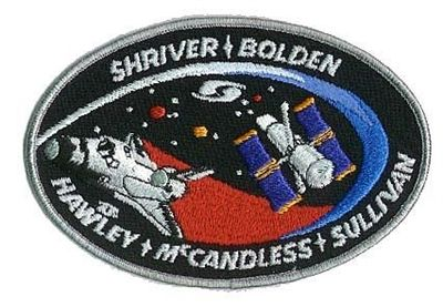 STS31 Mission Patch. 35th Space Shuttle Mission.10th Flight of Discovery. The primary payload, the Hubble Space Telescope (HST) was deployed to a 380-statute-mile orbit. Secondary payloads included the IMAX Cargo Bay Camera (ICBC) to document activities outside the crew cabin and hand-held IMAX camera for use inside the crew cabin.