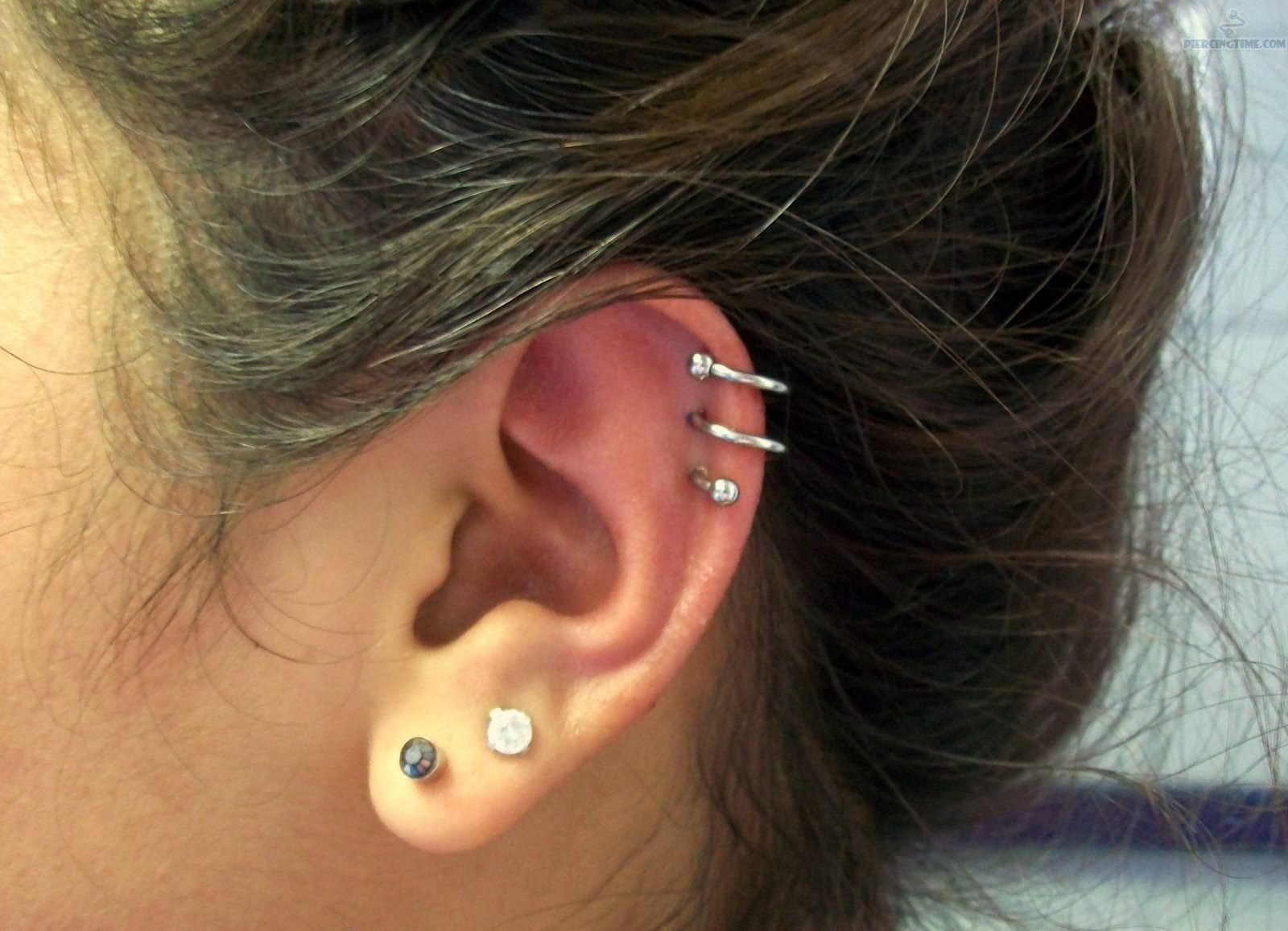 double cartilage piercings - yahoo image search results | tats +