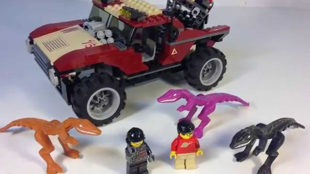 Lego Dino Attack 7475 Fire Hammer Vs Mutant Lizards Dinosaurs