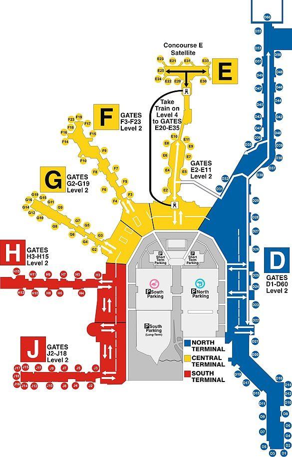 Miami International Airport MIA Airlines Ticket