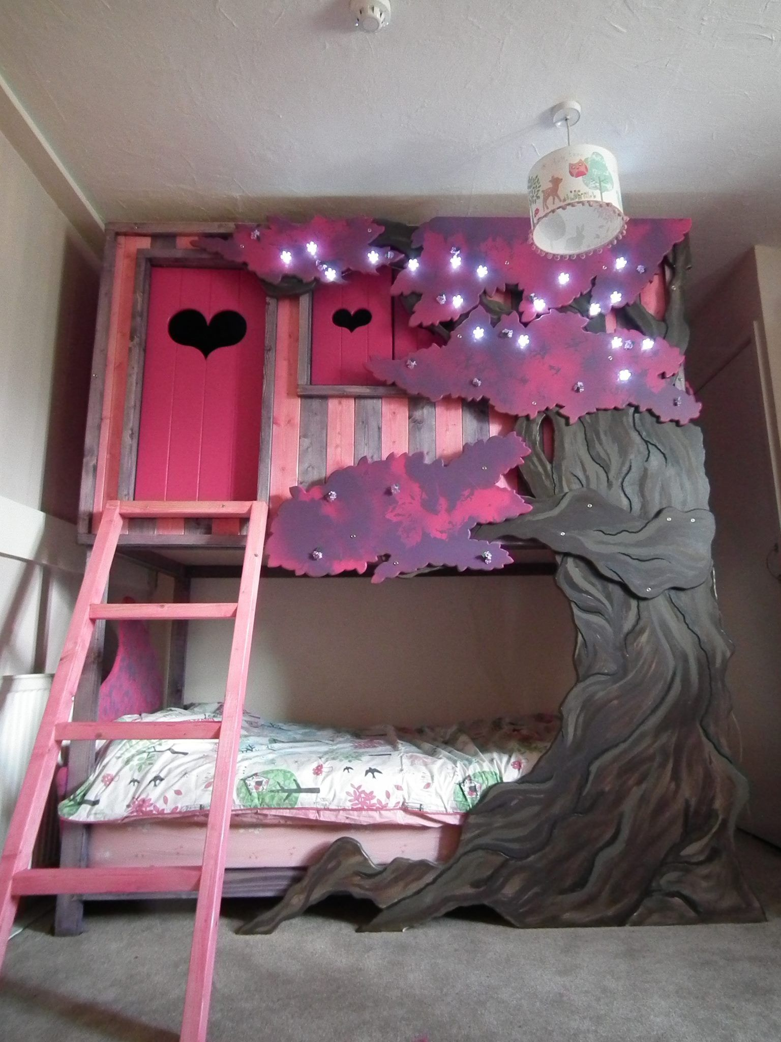 Tree House Den Bed Boys Room Decor Bed House Beds