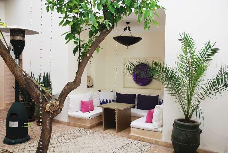 Arredare un terrazzo in stile marocchino - Terrazzo marocchino in ...