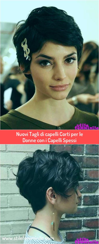 Photo of Nuovi Tagli di capelli Corti per le Donne con i Capelli Spessi