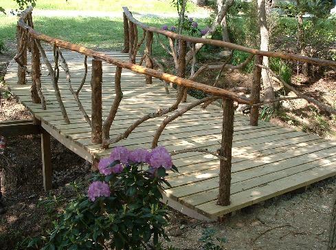 Nice Rustic Garden Structures Bridges, Gates, U0026 Trellises  Maybe Bridge Going To  Lake.
