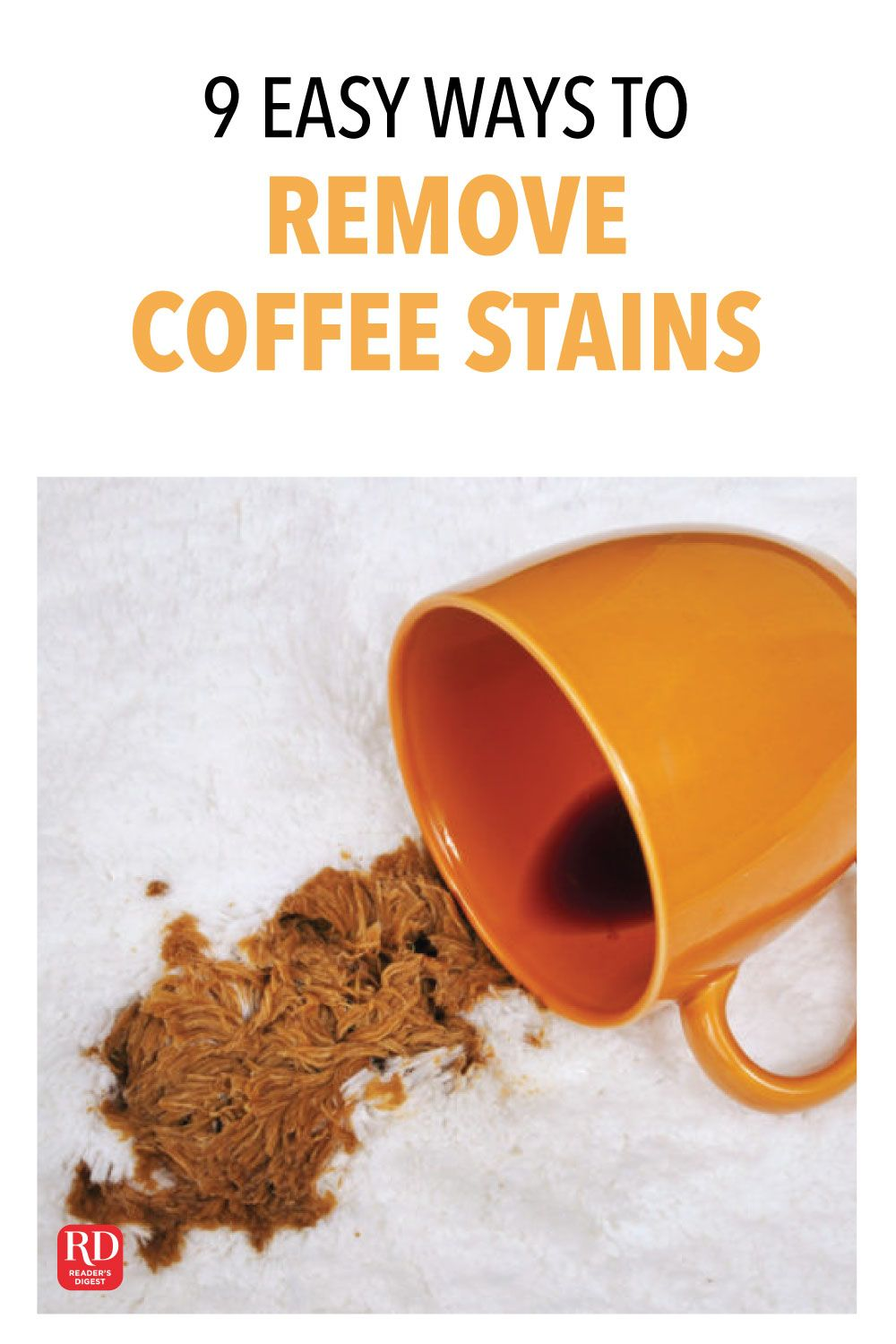 9 Easy Ways To Remove Coffee Stains Coffee Stain Removal Coffee
