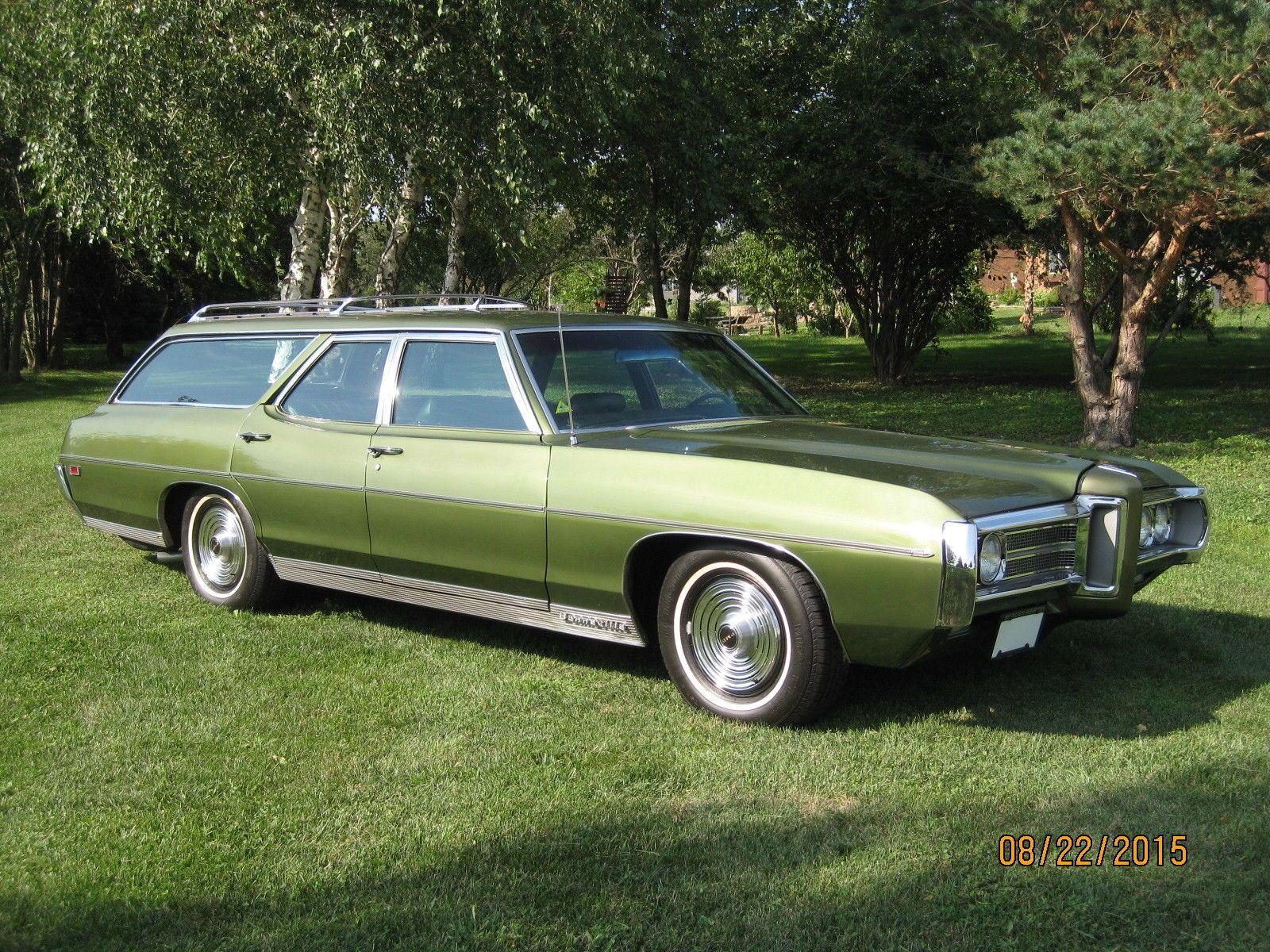 1969 pontiac bonneville safari station wagon [ 1600 x 1200 Pixel ]