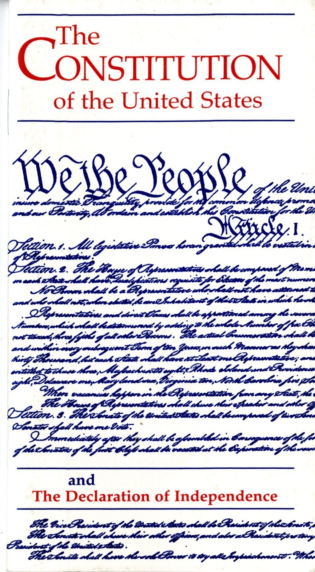 It's an election year, there's no better time for your family to read and discuss the Constitution of the United States and the Declaration of Independence. These two documents represen…