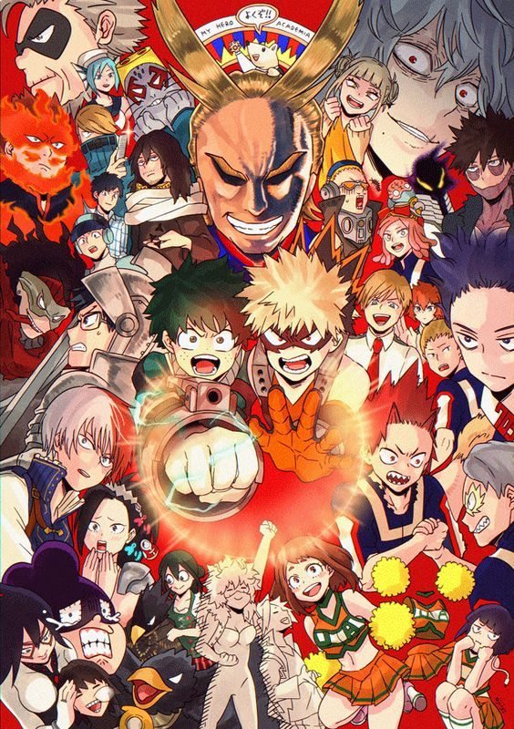 My Hero Academia Wallpaper Myheroacademia Cosplayclass My Hero Anime Hero Wallpaper
