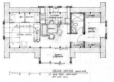 plan of cruck house - Home Plan Sketch