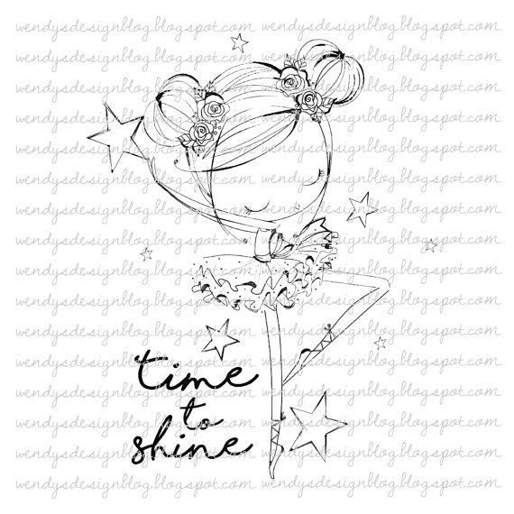Time To Shine | Brillar, Dibujo y Colorear