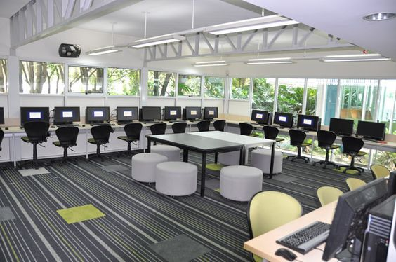 Pin by Erin O\'Brien on Rec facilities | Computer lab design ...