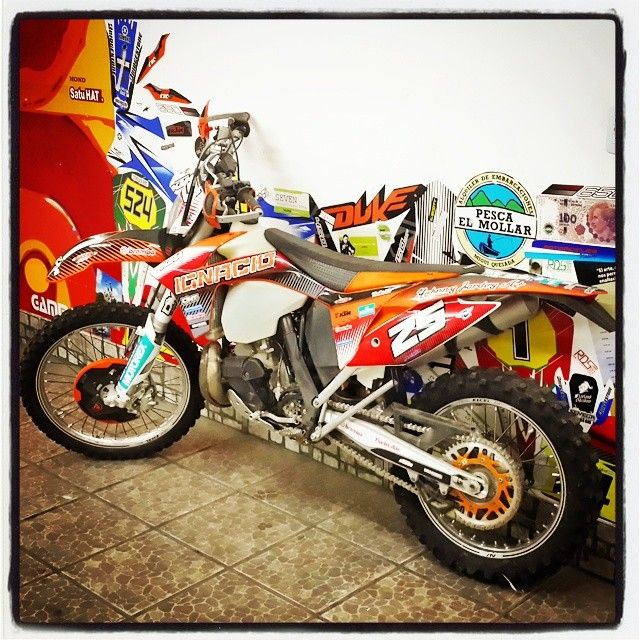 dise o motos ktm calcos stickers vinilo ploteo