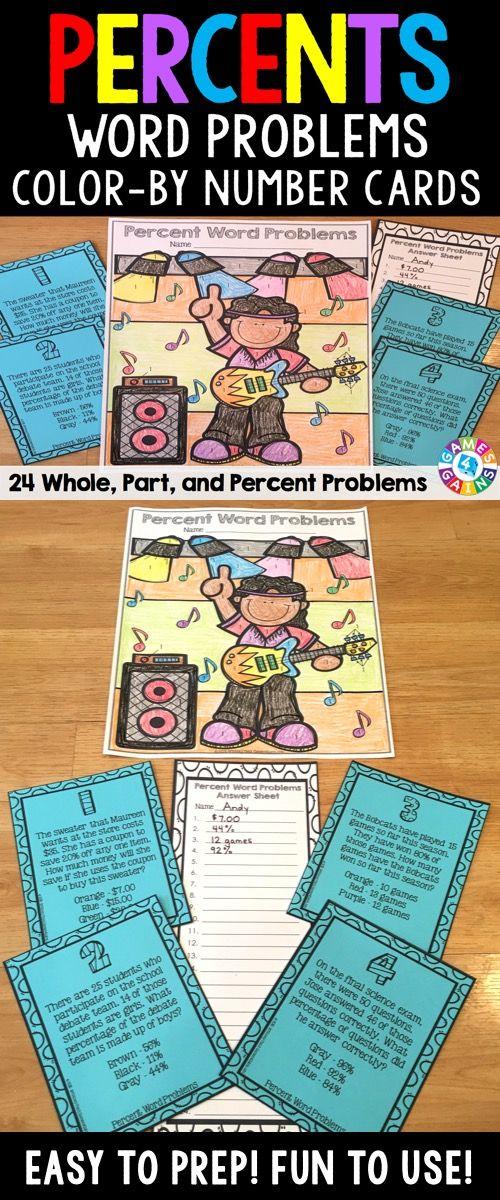 solve percent word problems
