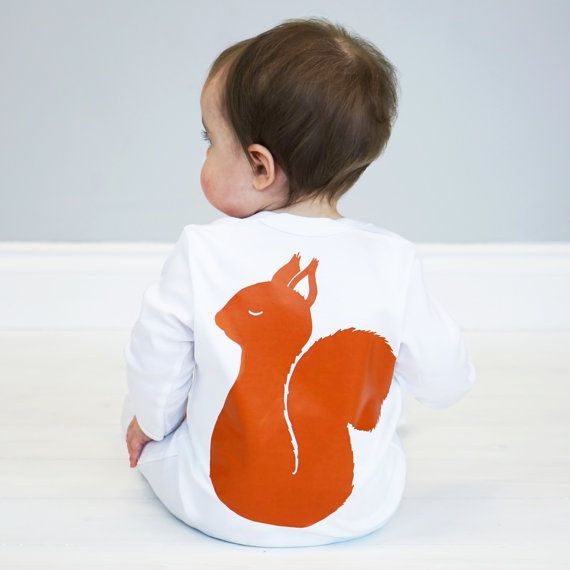 Pin by jessica smith on torin pinterest squirrel woodland buy squirrel baby sleepsuit from not on the high street international delivery on sendit negle Choice Image