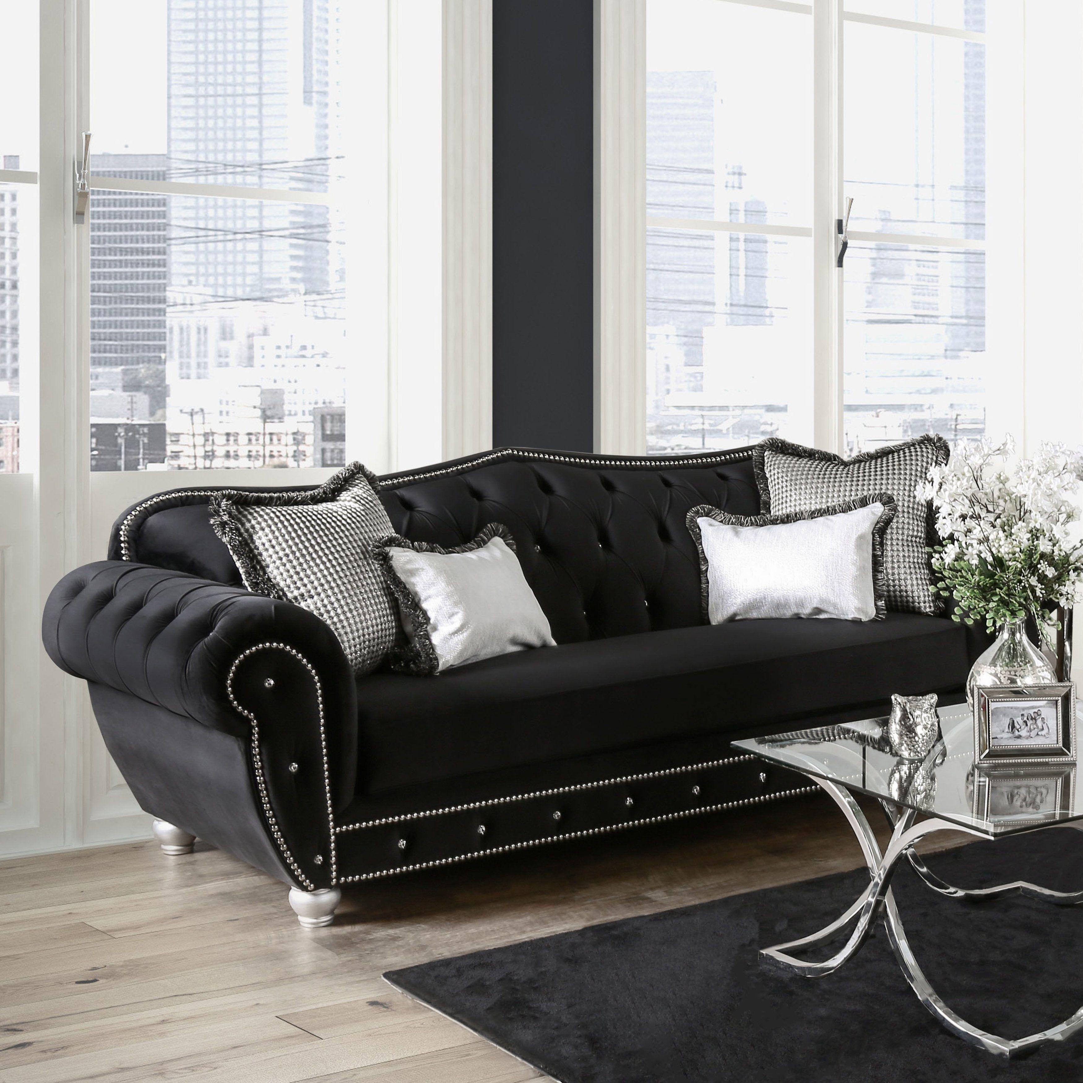 Online Shopping Bedding Furniture Electronics Jewelry Clothing More Furniture Black Fabric Sofa Black Sofa