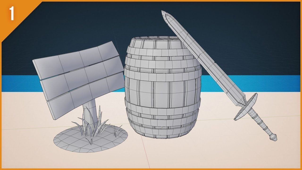 3D Modeling with Blender 2.8 Get Started Building Stuff