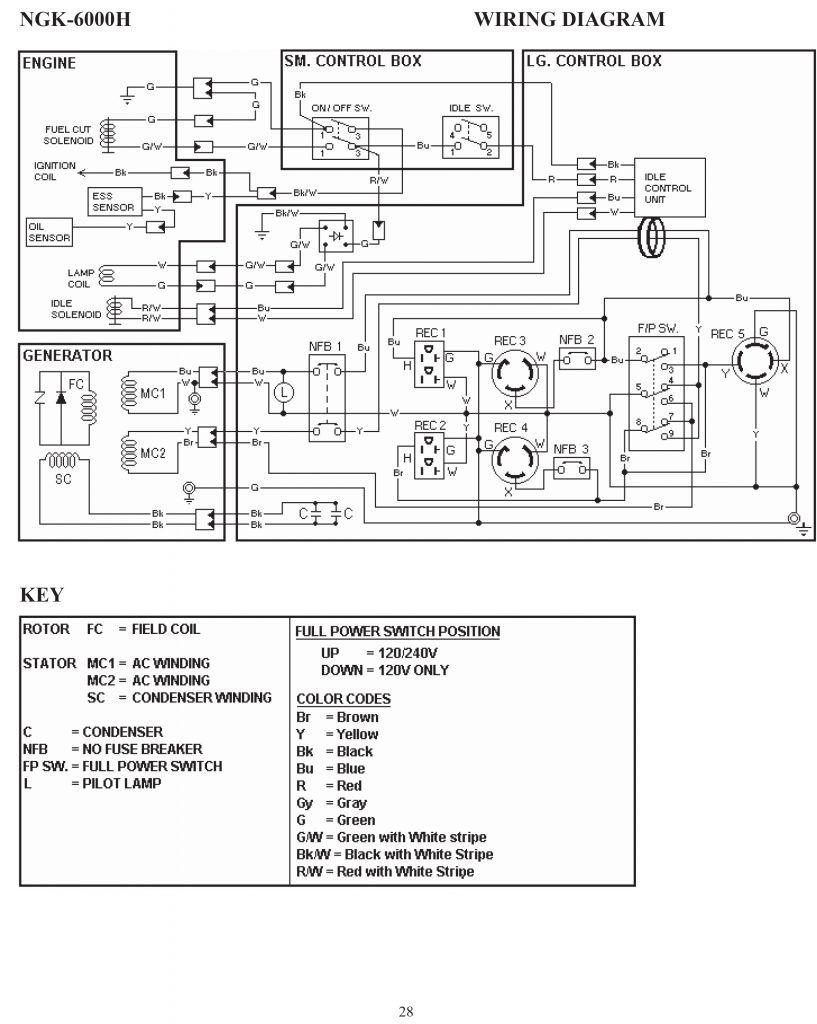 Gl1800 Wiring Diagram Single Line Parts Of A Flower Simple