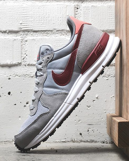new product 616a9 3c561 Nike Lunar Internationalist  Grey Burgundy