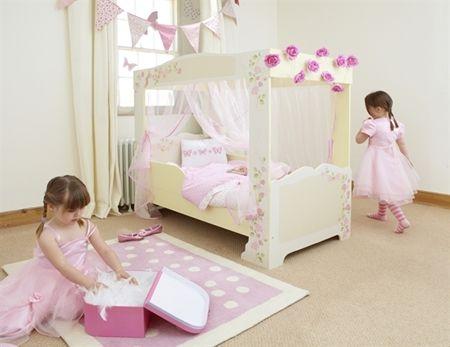 Rosette Girl's 4 Poster Toddler Bed - Rosette Girl's 4 Poster Toddler Bed Crochet Pinterest