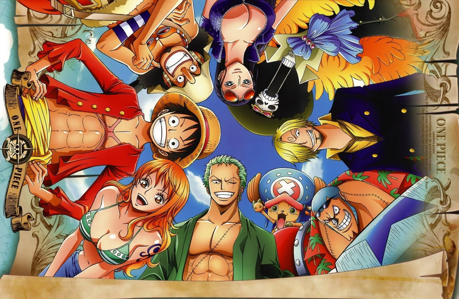 One Piece Crew After 2 Years Hd Wallpaper One Piece New