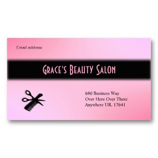 Beautician business card all things zazzle pinterest business beautician business card colourmoves