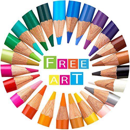 Colored Pencils, Artist Grade Watercolor Pencils Set of 2 ...