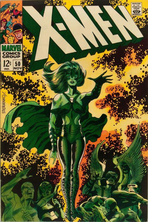 X Men 50 Marvel 1968 Jim Steranko Cover And Jim Steranko Comic Book Artists Silver Age Comics