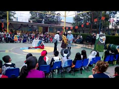 La Leyenda del Dia de muertos , jardin de niños Erik H. Erikson - YouTube