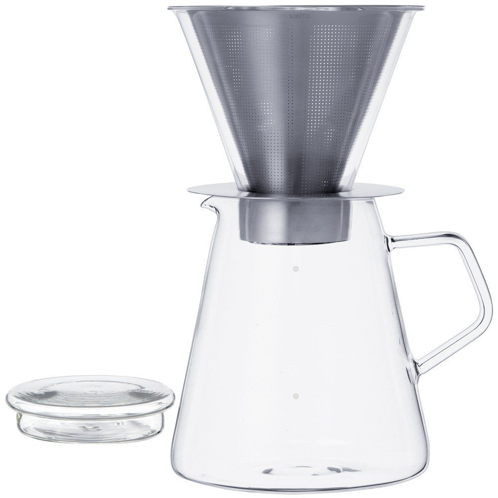 This coffee maker features a high grade stainless steel filter with ultra-fine holes that is able to extract more precious coffee oil.