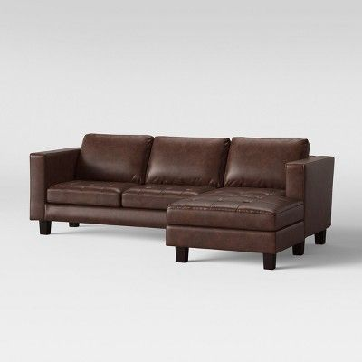 Cool Edgemere Sofa Sectional With Tufting And Large Ottoman Ncnpc Chair Design For Home Ncnpcorg