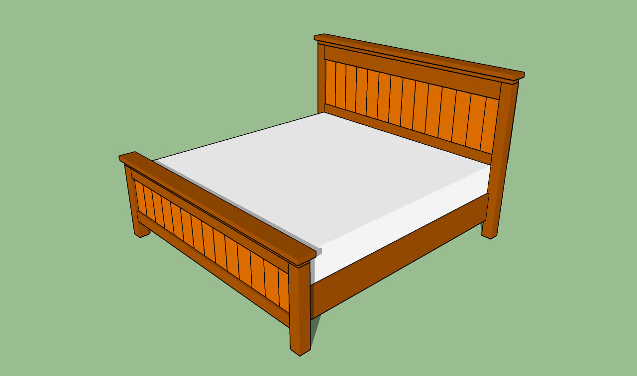 to build a king size bed frame