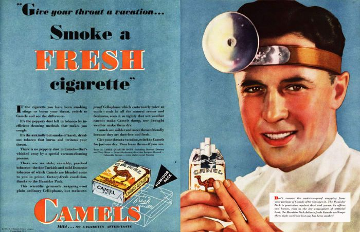 Pin On Cigarette Smoking Ad S