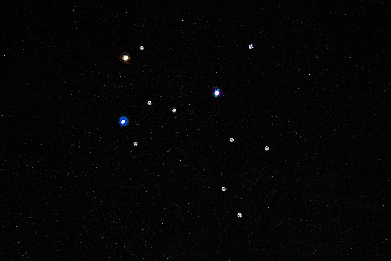diamond constellation: Sagittarius (23.11.-21.12)