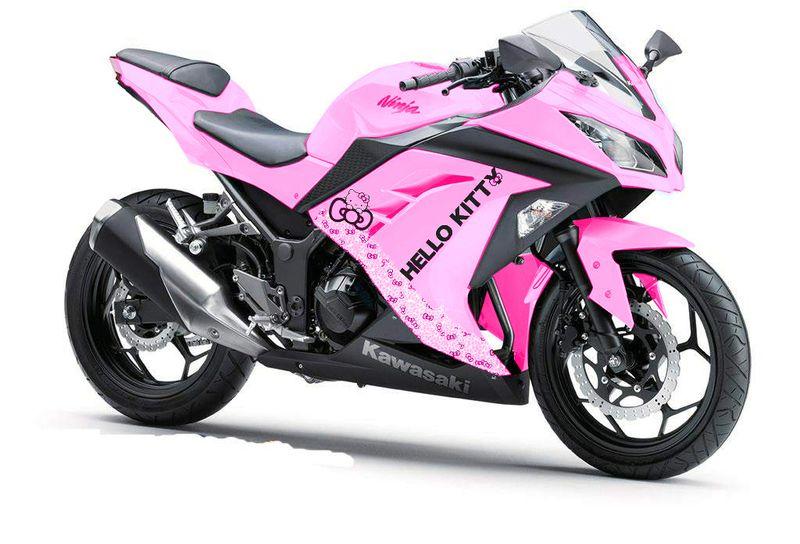 Pink Hello Kitty Motorcycle