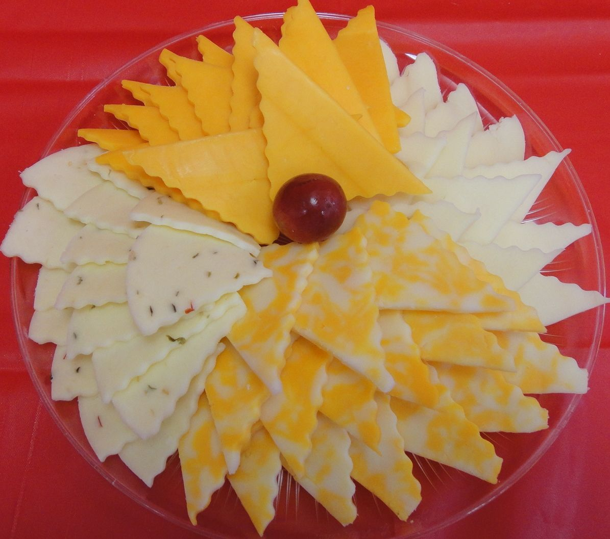 9 inch cheese tray serves 57 people 1200 party