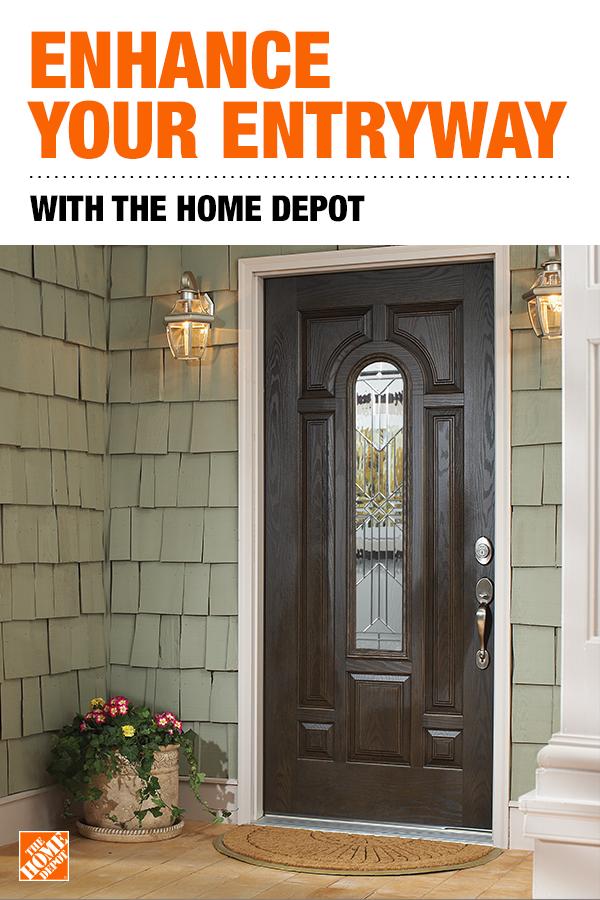 Enhance Your Entryway Home Depot Front Door Rustic Front Door