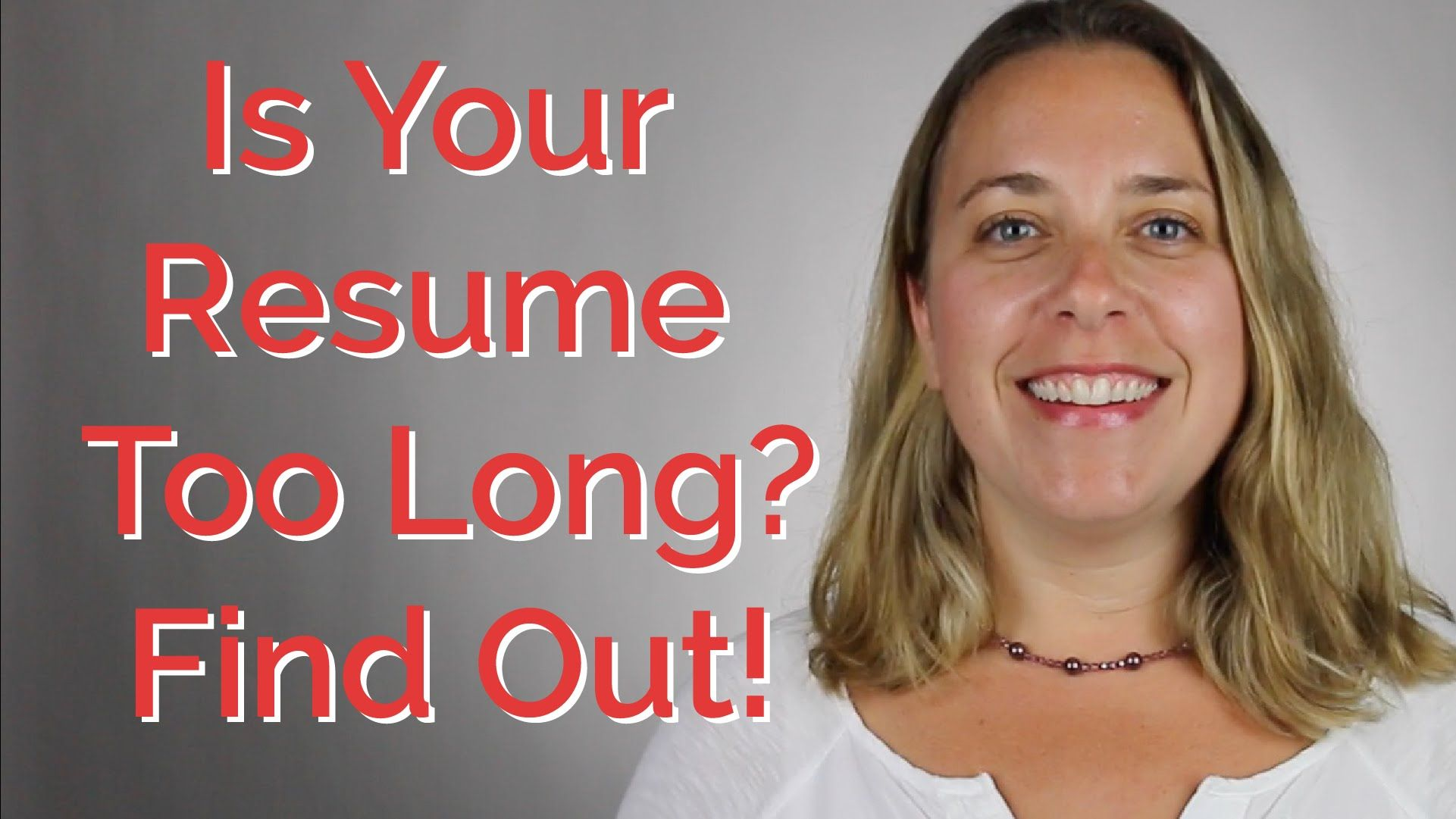 How Long Should Your Resume Be? CareerHMO Resume, How