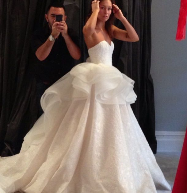 15 Sweetheart Lace White/Ivory Bridal Gown Wedding Dress Size 2-4-6 ...