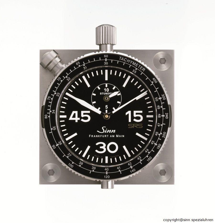 Sinn 4.917 Bordstopuhr mit SRS-Schaltung (Stop-Rück-Start, auch als ...