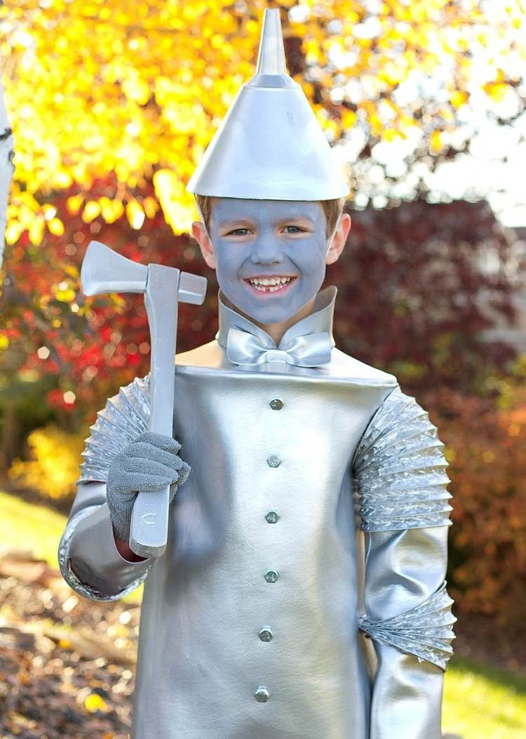 Kinder Faschingskostüme - Der Zinnmann aus Oz kostiumy Pinterest - Wizard Of Oz Halloween Decorations